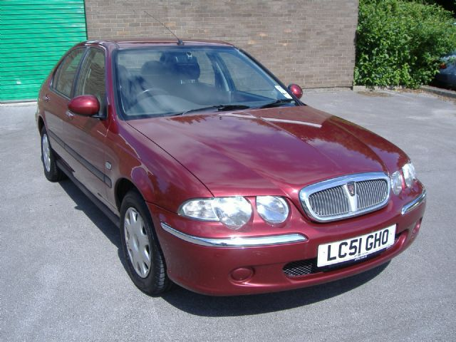 Rover 45 1.6 Impression Hatchback Petrol RedRover 45 1.6 Impression Hatchback Petrol Red at Sandbeck Garage Wetherby